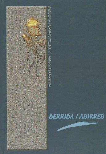 9788389709905: Derrida / Adirred