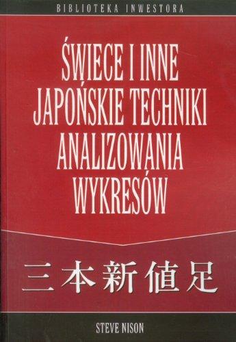 9788390329642: Swiece i inne japonskie techniki analizowania wykresow