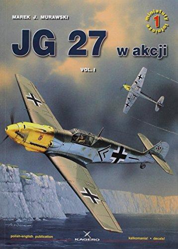 9788391482490: JG 27 w akcji: Volume 1 (Air Miniatures)