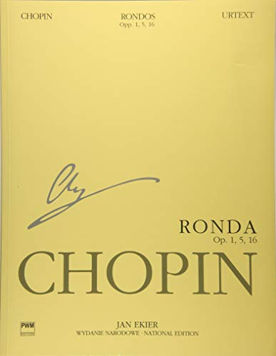 9788392036555: Rondos for Piano: Chopin National Edition Vol. VIIIA (National Edition of the Works of Fryderyk Chopin: Series a: Works Published During Chopin's ... Narodowe Dziel Fryderyka Chopina: Seria)