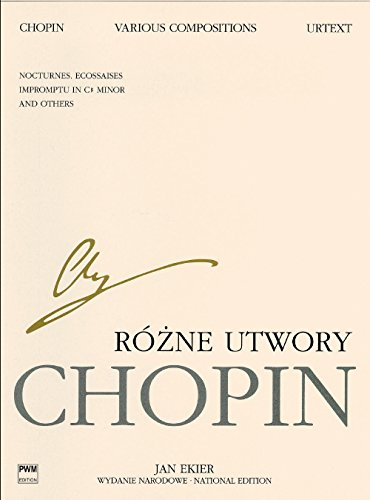 Various Compositions for Piano: Chopin National Edition