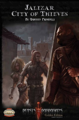 9788393504480: Jalizar City of Thieves (Savage Worlds, Beasts & Barbarians, S2P30004)
