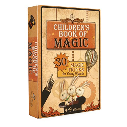 9788394216900: Children's Book of Magic: 30 Magic Tricks for Young Wizards