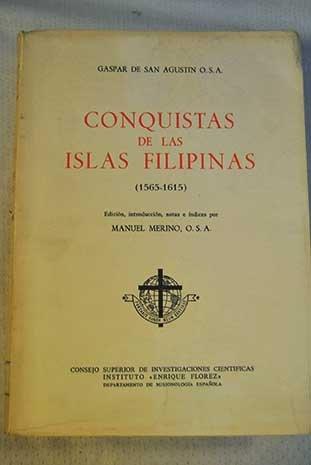 9788400040727: Conquistas de las Islas Filipinas (1565-1615) (Biblioteca Missionalia Hispánica)
