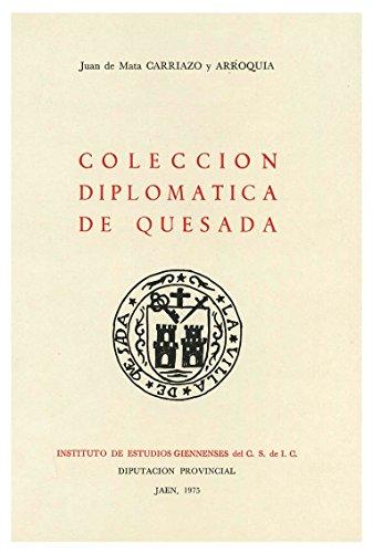 9788400042189: COLECCION DIPLOMATICA DE QUESADA