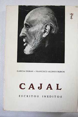 9788400043452: Ramon y Cajal. Escritos inéditos.