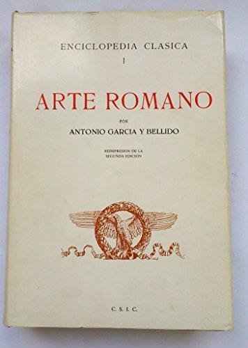 Arte Romano,: García y Bellido,