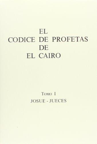 EL CÓDICE DE PROFETAS DE EL CAIRO.: PÉREZ CASTRO, F.