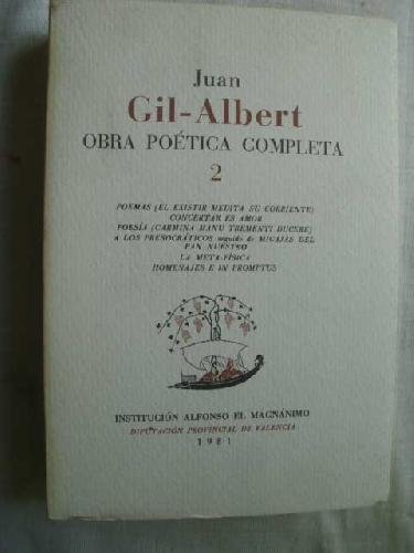 9788400048488: Obra poetica completa; t.2