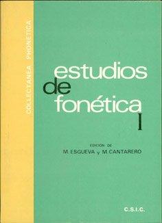 9788400053192: Estudios de fonetica (Collectanea phonetica) (Spanish Edition)