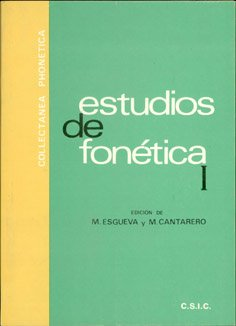 9788400053192: Estudios de Fonética (Collectania Phonetica)