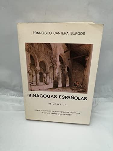 """9788400055257: Sinagogas españolas: Con especial estudio de la de Córdoba y la toledana de El Tránsito (Publicaciones del Instituto """"Benito Arias Montano"""") (Spanish Edition)"""