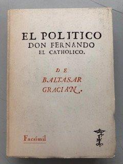 9788400059163: El politico don Fernando el catolico