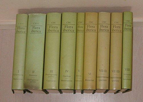 Flora iberica: Plantas vasculares de la Peninsula Iberica e Islas Baleares (Spanish Edition)