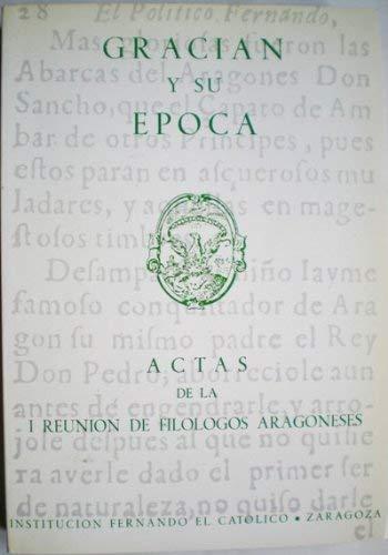 Gracian y su epoca: Actas : ponencias: by title]