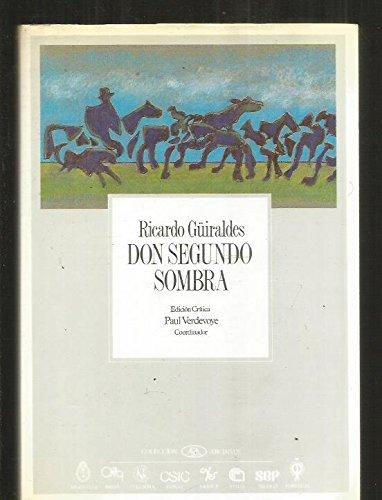 9788400068813: Don Segundo Sombra (Coleccibon Archivos) (Spanish Edition)