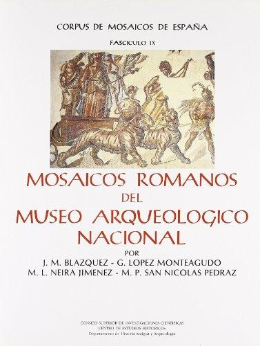 9788400069919: Mosaicos romanos del Museo Arqueológico Nacional (Corpus de mosaicos de España) (Spanish Edition)