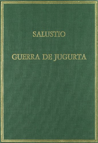 9788400071196: Guerra de Jugurta (Alma Mater)