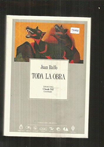 9788400071219: Toda la Obra: Edición Critica (Coleccion Archivos, 17) (Spanish Edition)