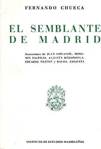 9788400071479: El Semblante de Madrid