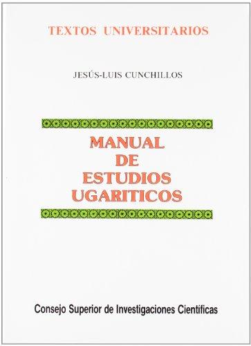 9788400072148: Manual de Estudios Ugariticos