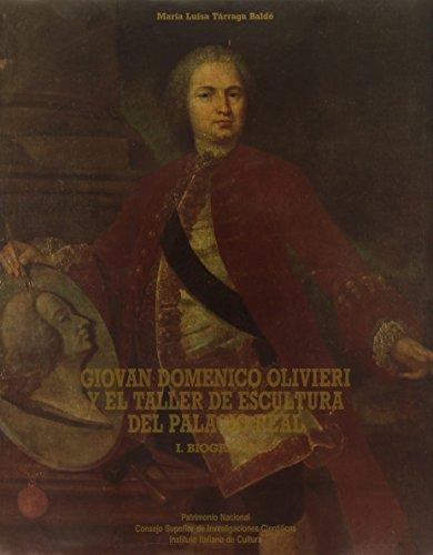 9788400073213: Giovan domenico olivieri y tallerescultura del palacio real,3 vols.