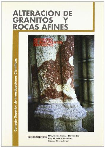 ALTERACIONES DE GRANITOS Y ROCAS AFINES, EMPLEADOS: María Ángeles Vicente