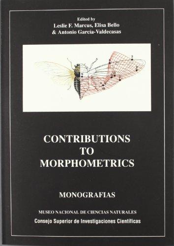 9788400073534: Contributions to morphometrics (Monografías del Museo de Ciencias Naturales)