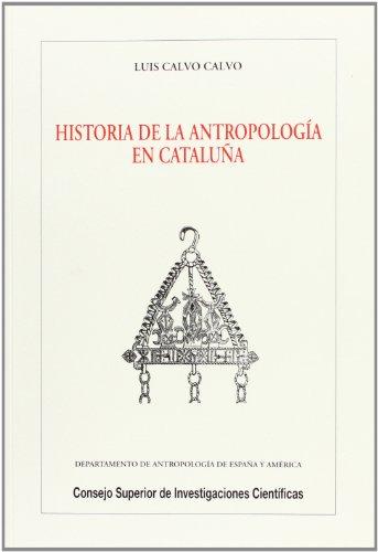 9788400076771: Historia de la antropología en Cataluña (Biblioteca de Dialectología y Tradiciones Populares)