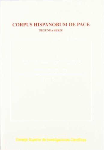 DE INDIARUM IURE (LIBER II/1: DE ADQUISITIONE: Juan de Solórzano