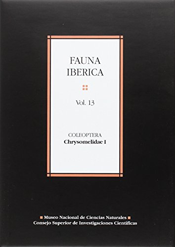 9788400078942: Fauna ibÚrica. Vol. 13. Coleoptera: Chrysomelidae I