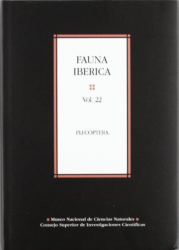 9788400081980: Fauna ibérica. Vol. 22. Plecoptera