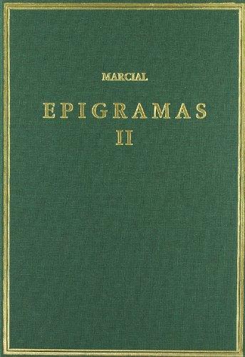 9788400083014: Epigramas. Vol. II. Libros 8-14