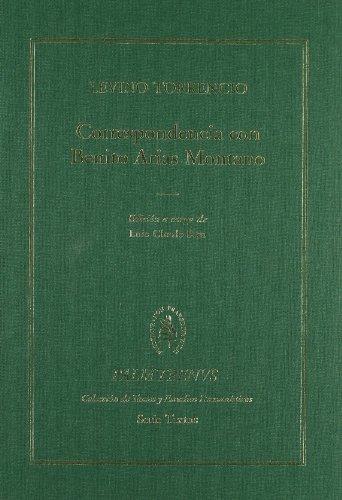 9788400086008: Correspondencia con Benito Arias Montano (Palmyrenus. Colección de Textos y Estudios Humanísticos)
