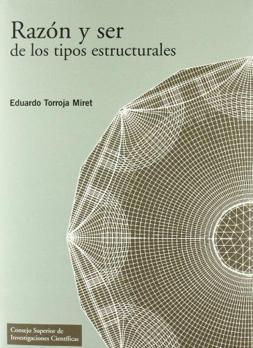 9788400086121: Razón y ser de los tipos estructurales (Textos Universitarios)