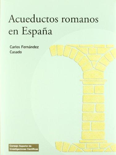 9788400087074: Acueductos romanos en España (Textos Universitarios)