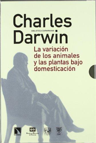 9788400087128: La variación de los animales y las plantas bajo domesticación