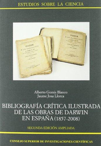 9788400088033: Bibliografía crítica ilustrada de las obras de Darwin en España (1857-2008) (Estudios sobre la Ciencia)