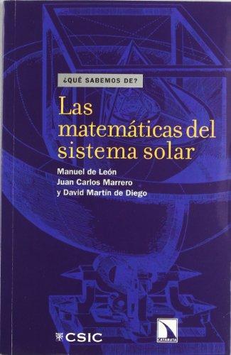 9788400088231: Las Matemáticas del Sistema Solar