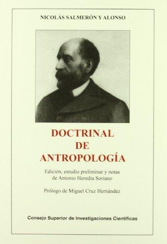 9788400088293: Doctrinal de Antropología