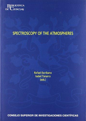 9788400092092: Spectroscopy of the Atmospheres (Biblioteca de Ciencias)