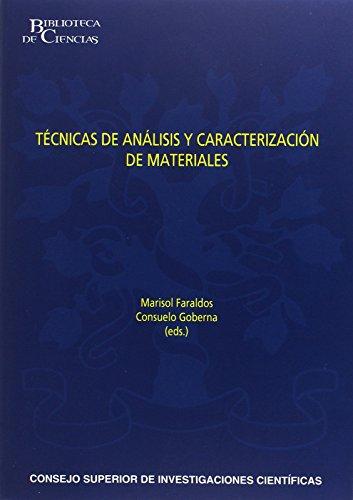 9788400094362: TECNICAS DE ANALISIS Y CARACTERIZACION DE MATERIALES