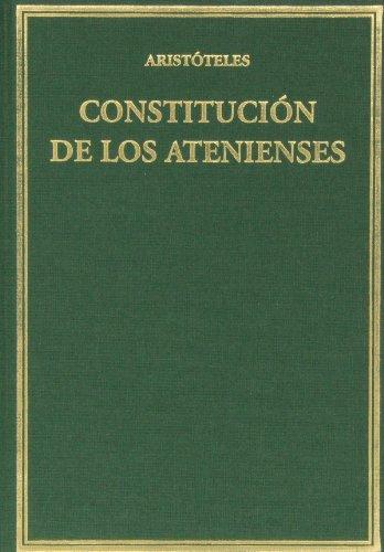 9788400096465: Constitución de los atenienses (Alma Mater)