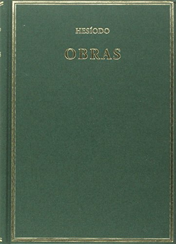 9788400098414: Obras: Teogonía; Trabajos y días; Escudo (Alma Mater)