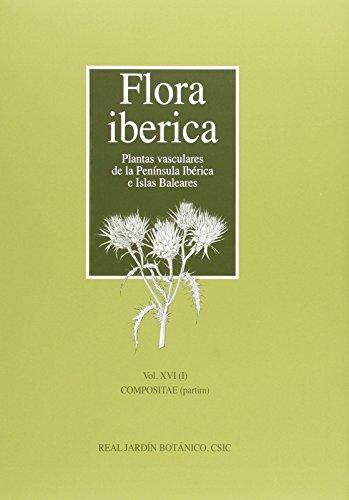 9788400098834: Flora iberica. Vol. XVI/1: Compositae (partim)
