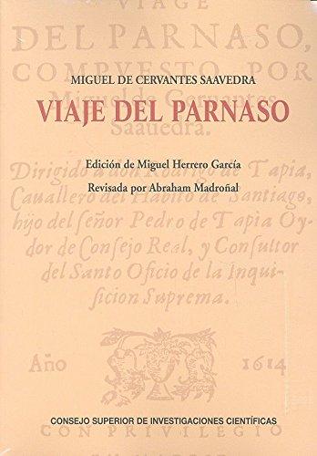VIAJE DEL PARNASO - MIGUEL DE CERVANTES SAAVEDRA