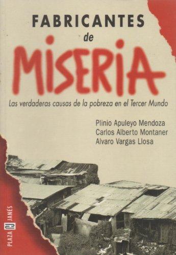 9788401011832: Fabricantes De Miseria (Spanish Edition)