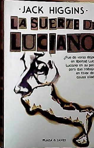 9788401303630: La suerte de Luciano