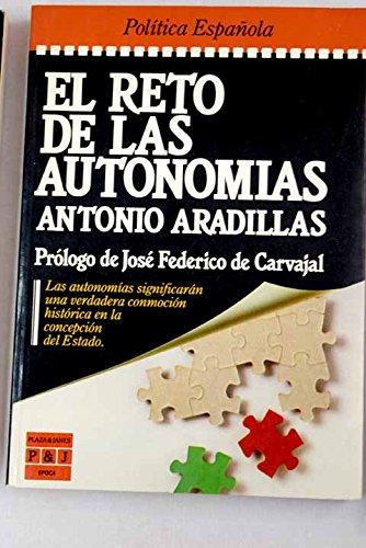 9788401333255: El reto de las autonomias (Epoca. Politica espanola) (Spanish Edition)