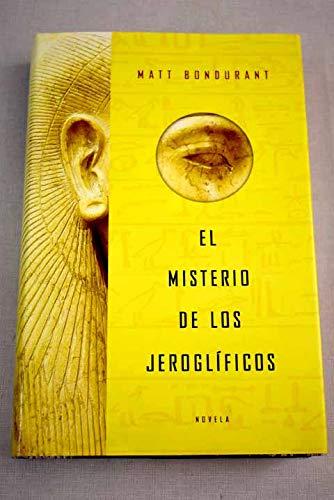9788401335730: Misterio de los jeroglificos, el (Exitos De Plaza & Janes)